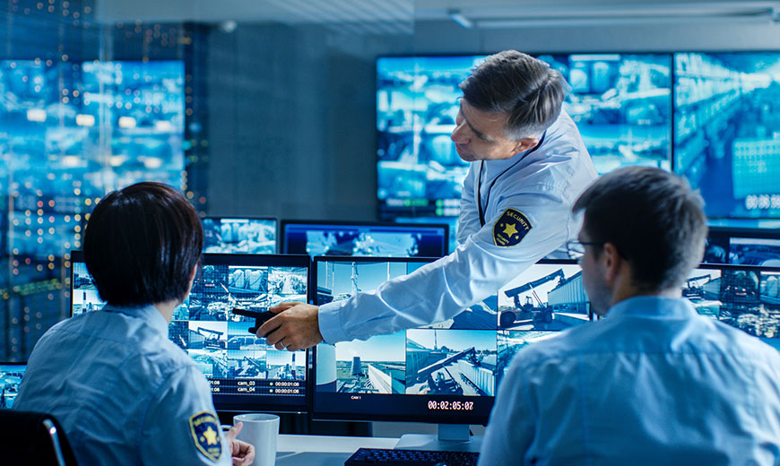 The significance of airport security guard system