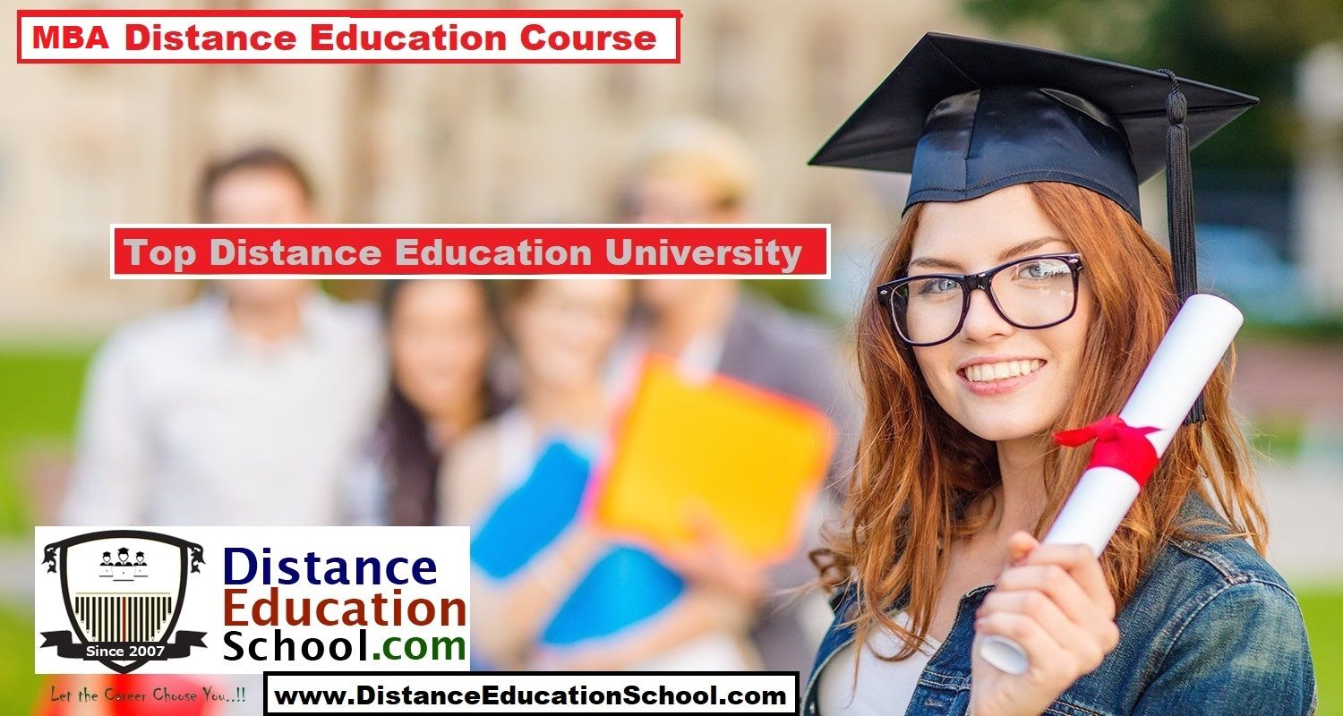 The best universities in India for MBA distance education